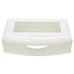 See-Thru Plastic Sterilizing Tray ~ Cotton Orchid