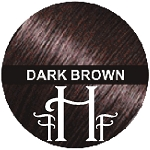 Dark Brown Keratin Hair Fusion Fibers 28g /.98oz