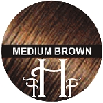 Medium Brown Keratin Hair Fusion Fibers 28g /.98oz