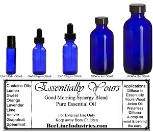 Good Morning Synergy Blend - 100% Pure & Natural, Undiluted Choose Size