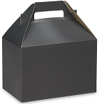 Gable Box Black Size 8 x 4 7/8 x 5 1/4