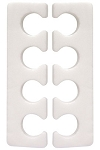 Standard Toe Nail Separators Qty 100 ~ Cotton Orchid