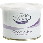 Lavender Essential Oil Soft Wax (Strip) 14oz ~ Flora