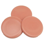 Pink No-Strip Disc Hard Wax (Strip-Less) 17oz ~ Flora