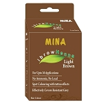 Eyebrow Light Brown Henna Tinting Kit ~ Mina iBrow Henna