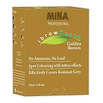 Eyebrow Henna Tint Golden Brown Refill Pack ~ Mina iBrow Henna