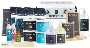 Wax Kit Set Up with Big Warmer Package - Berodin