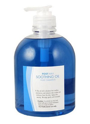 Post Wax Soothing Oil 16oz ~ Flora