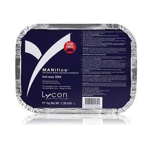 MANIFICO HOT WAX XXX 1kg / 35oz ~ Lycon Wax